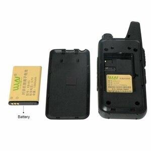 Image 5 - 100% WLN KD C1 Walkie Talkie KD C2 KAILIวิทยุ5WคุณภาพสูงUltra Thin Mini USB ChargerวิทยุแบบพกพาKDC1 KDC2