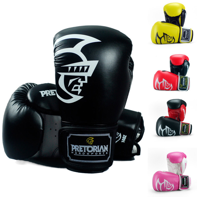 Boxing-Gloves Fighting MMA Training Muay-Thai Twin Women Gym 5-Colors 10-16-Oz Wholesale