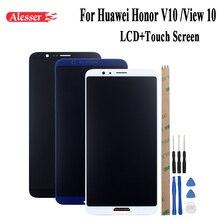 Alesser สำหรับ Huawei Honor V10 Honor ดู 10 BKL AL00 AL30 L09 จอแสดงผล LCD + หน้าจอสัมผัสอะไหล่ซ่อม 5.99 Phone แท่นวางอุปกรณ์เสริม + เครื่องมือ
