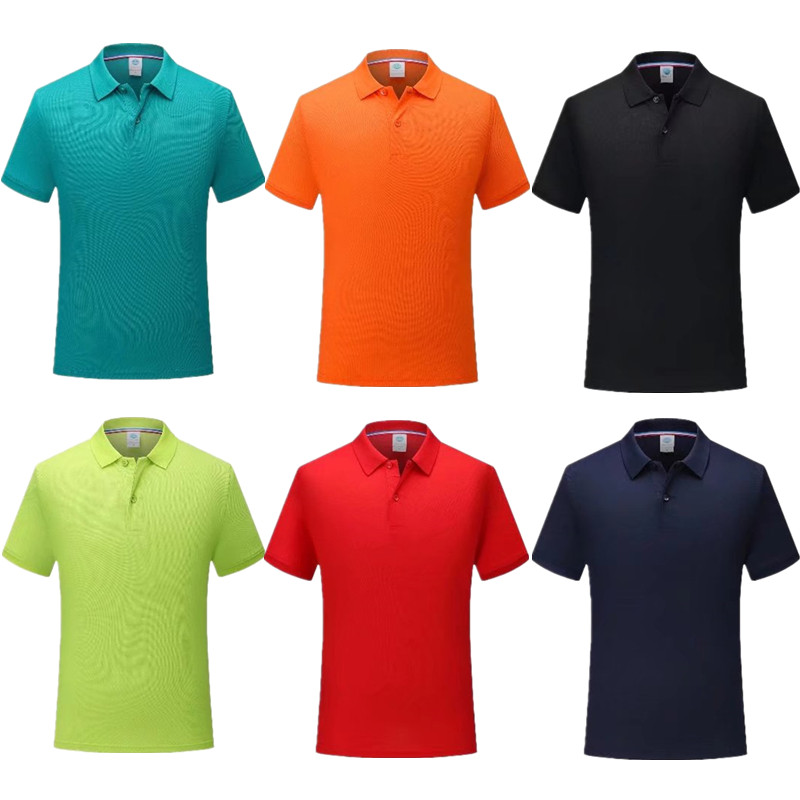 Trainning Exercise Mens Golf Short sleeve shirts Polo sportswear shirt dot strips Man woman universal Golf clothing 7901