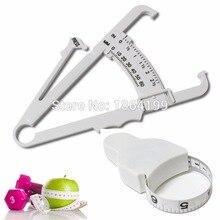 2 шт./лот штангенциркуль для измерения жира тела с измерительной лентой для измерения массы тела