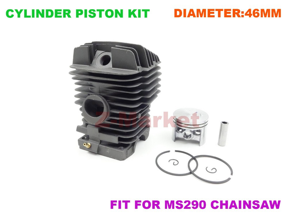 US $53 5 |Ceramic Cylinder Piston Kit for STIHL MS290 029 Gasoline Chainsaw  Parts-in Tool Parts from Tools on Aliexpress com | Alibaba Group
