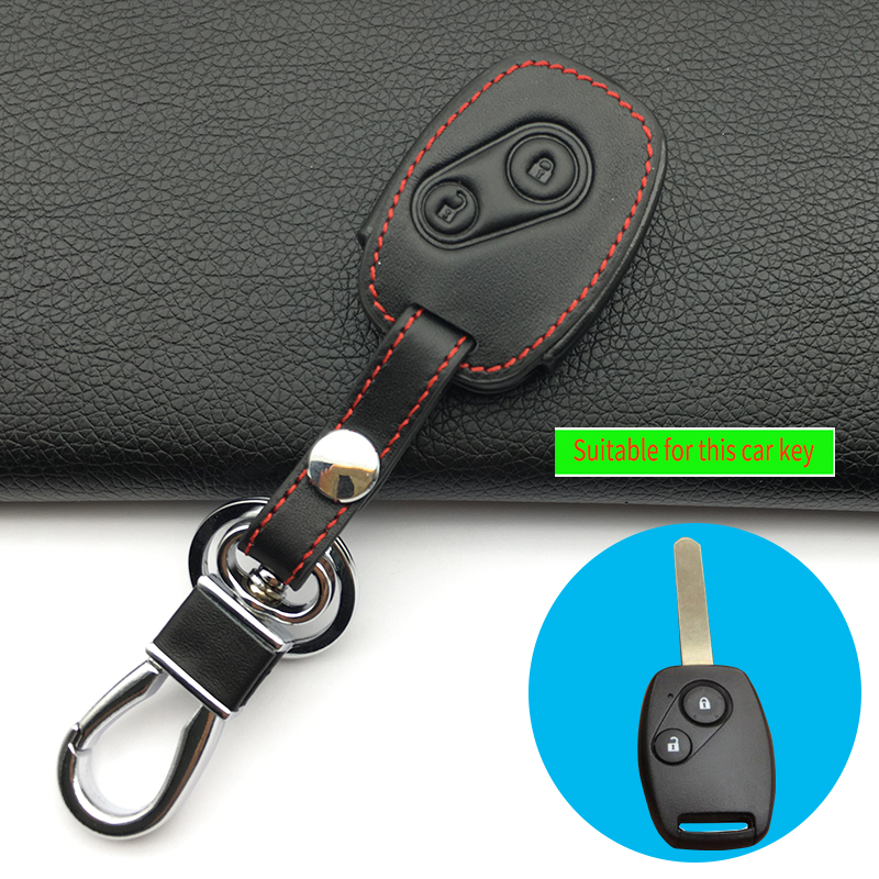 Mustang Boss 302 Ford Black Leather Strap Key Chain iPick Image