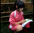 Super Hot Anime Movie Spirited Away Chihiro Cosplay Costumes Girls Cute Pink  Kimono Japenese Style Ladies Hot Costumes for Sale