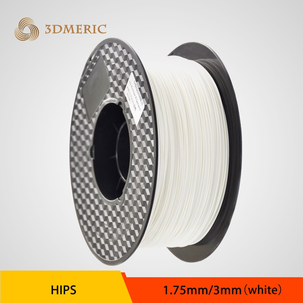 7 Colors to choose 3D Printer Filament HIPS 1.75mm/3mm for Makerbot/Reprap/Mendel/UP Machine 1kg(2.2lb)/spool 3d printer abs filament 3mm 1kg spool for 3d printing no bubble about 135m white color tolerance 0 02mm for makerbot reprap up