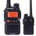 Baofeng uv-3r + walkie talkie vhf uhf transceptor de rádio de 99 canais de mini walkie talkie handheld talkie transceptor função vox