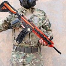 Пластиковый M416 M1911 98K Глок Барретт гелевый шариковый пистолет игрушка мягкие водяные пули пистолет Открытый CS стрельба игры подарки игрушки для детей