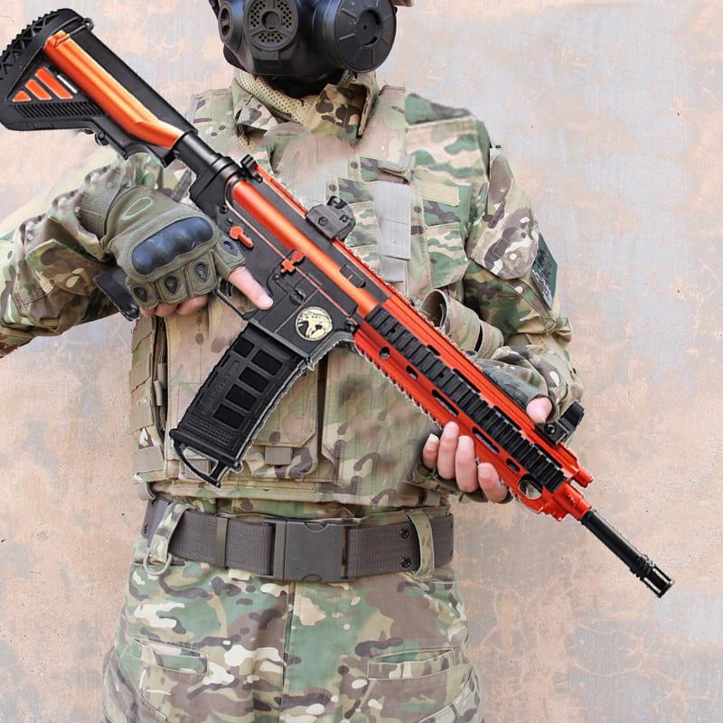 Plastic M416 Groza Glock Barrett Water Gel Ball Gun Toy Soft Water Bullets Gun Outdoor CS Shooting Game Gifts Toys For Children