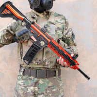 Plastic M416 M1911 98K Glock Barrett Gel Ball Gun Toy Soft Water Bullets Gun Outdoor CS Shooting Game Gifts Toys for Children