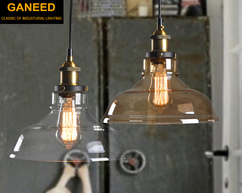 Ganeed Vintage Pendant Lights Retro Glass Hanging lamp Russia Loft Pendant Lamps Industrial Lighting Modern Kitchen Dining RoomGaneed Vintage Pendant Lights Retro Glass Hanging lamp Russia Loft Pendant Lamps Industrial Lighting Modern Kitchen Dining Room