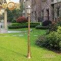 Levou à prova d' água do jardim ao ar livre iluminação 220 v villa pátio/park luminarias parágrafo jardim gramado paisagem lâmpada estrada luzes coluna