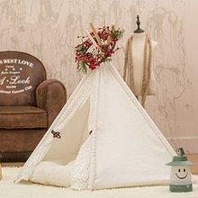 Pet Teepee Dog House Tent