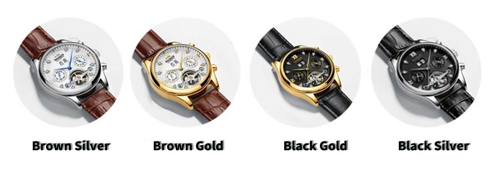 HTB1YEoXlVYqK1RjSZLeq6zXppXaK HAIQIN Men's watches Automatic mechanical Men Watches Business Watch men top brand luxury Military Waterproof Tourbillon Clock