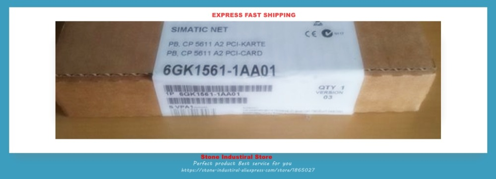 6GK15611AA01 COMMUNICATION PROCESSOR CP 5611 A2 6GK1561-1AA01 New Original Boxed6GK15611AA01 COMMUNICATION PROCESSOR CP 5611 A2 6GK1561-1AA01 New Original Boxed