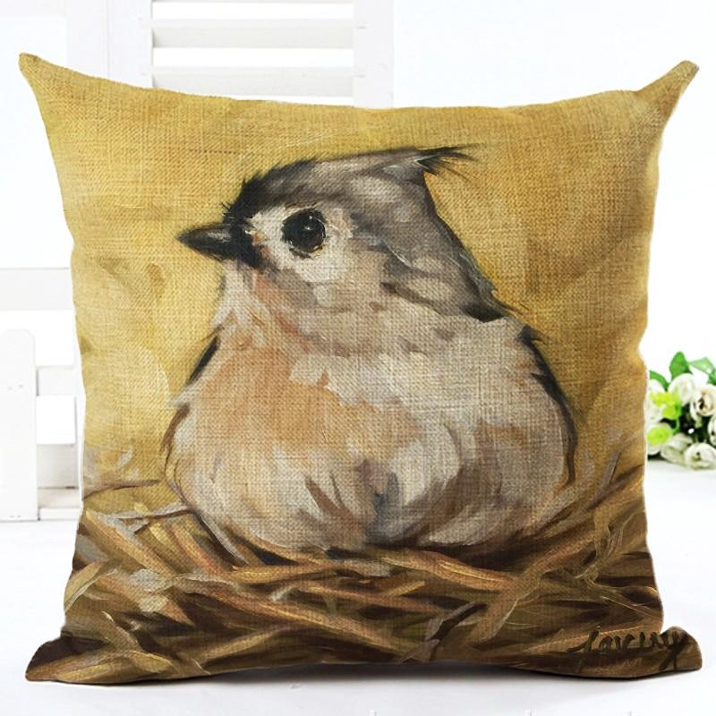 2016 Hot Πώληση Bird Αρχική Διακοσμητικά - Αρχική υφάσματα - Φωτογραφία 2