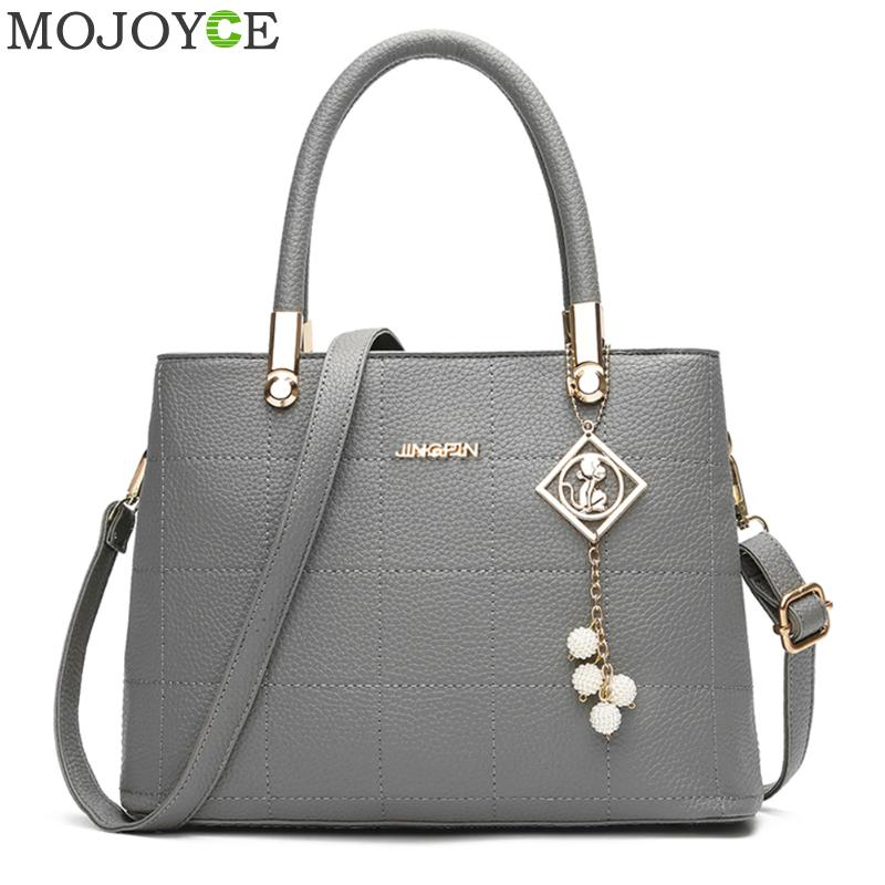 Fashion Women Shoulder Bag PU Leather Handbag Crossbody Messenger Bags for Women Famous Brand Designer Top Handle Handbags 2018 fashion casual michael handbag luxury louis women messenger bag famous brand designer leather crossbody classic bolsas femininas
