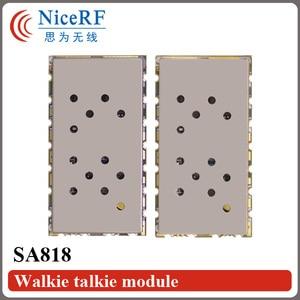 Image 3 - 2 adet/grup SA818 Yeni Nesil RDA1846S Çip VHF 134 ~ 174 MHz/UHF 400 480 MHz 1 W 30dBm Analog Walkie Talkie Modülü