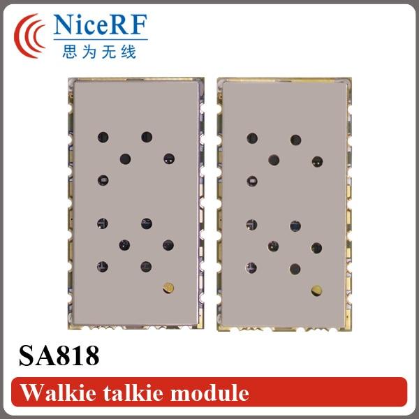 2PCS / Lot SA818 Nova generacija RDA1846S Chip VHF 134 ~ 174MHz / UHF - Voki-toki - Foto 3