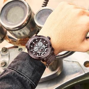 Image 3 - NAVIFORCE homme montre 2019 Top luxe marque nouvelle mode qualité en acier inoxydable militaire Sports hommes montres étanche bracelet