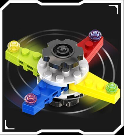 4pcs Fidget Creative Finger – Spinner Blocks