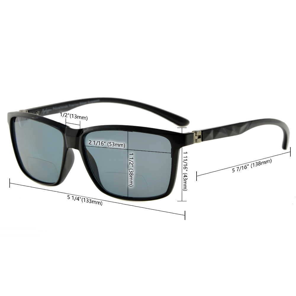 S032PGSG Eyekepper 180 Degree Spring Hinges Polycarbonate Polarized - Accesorios para la ropa - foto 5