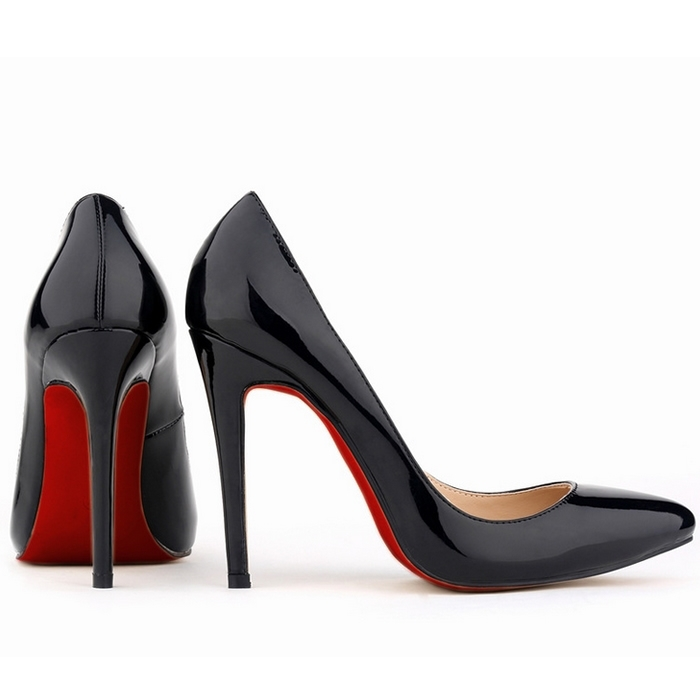 3fe9e9d61ed RED SOLE 29 Colors Fashion Women Sexy High Heels Red Bottom Pumps Ladies  Party Dance Wedding Work Court Shoes Plus Size Sapatos-in Women s Pumps  from Shoes ...