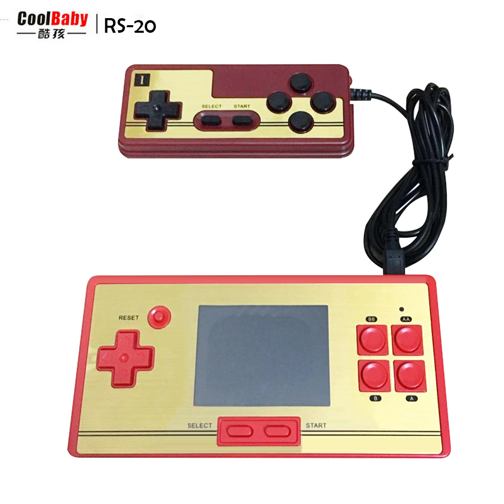 Game boy color online free - Coolbaby Rs 20 2 6inch Color Lcd Screen Video Games Game 8bit Handheld Game Console