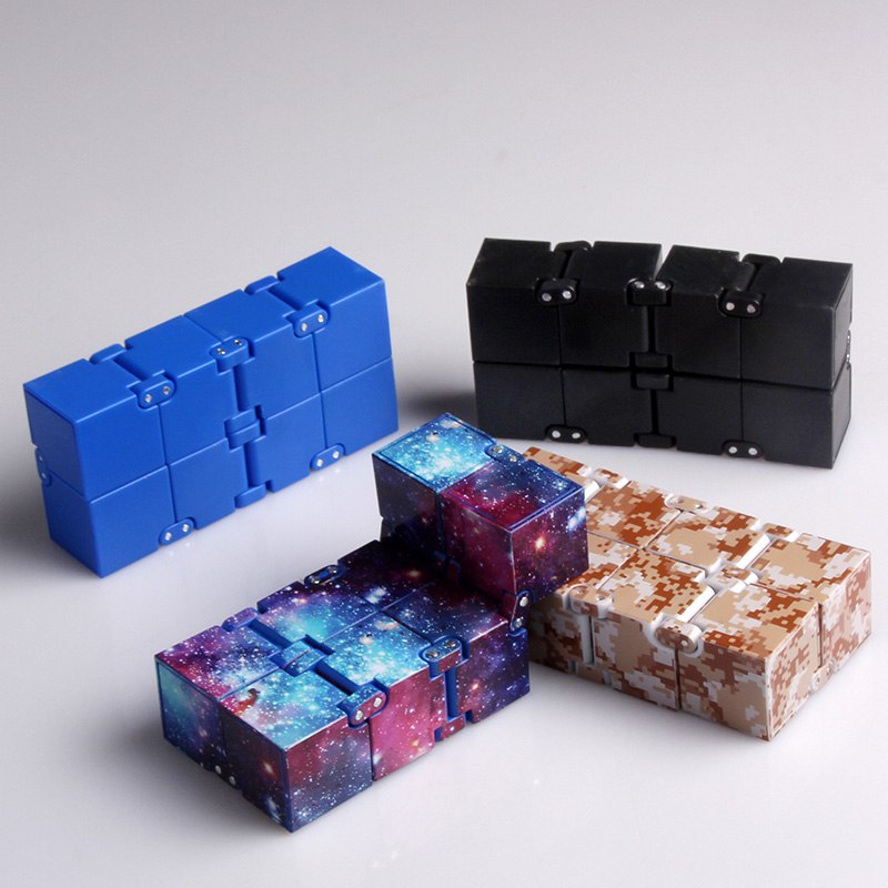 Infinity Cube Mini Toy Finger EDC Anxiety Stress Relief Magic Cube Blocks Children Kids Funny Toys Best Birthday Gift