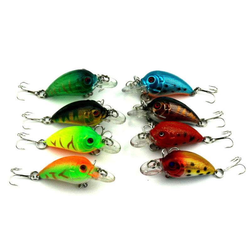 4.5cm 4.2g Mini Fishing Lures Crank Baits 3d Fish Eye Simulation Minnow Crankbait Hard Plastic Laser Lure Bait Tackle Japan Fly wldslure 1pc 54g minnow sea fishing crankbait bass hard bait tuna lures wobbler trolling lure treble hook