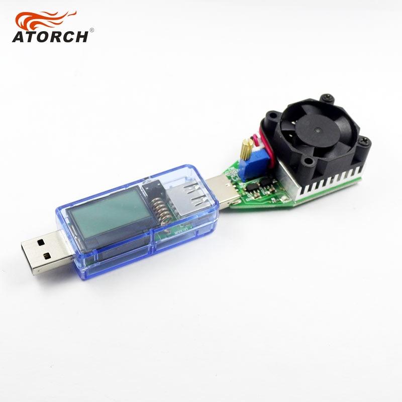 ATORCH USB tester Woltomierz cyfrowy DC + iphone micro USB Type-c - Przyrządy pomiarowe - Zdjęcie 5