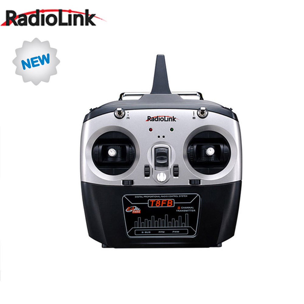 New Radiolink T8FB 2.4G 8CH 8 Channels RC Remote Control for RC Drone Quadcopter