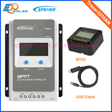 With MT50 and USB Tracer3210AN MPPT solar controller 30A LCD screen display EPEVER