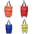 Reusable Shopping Bag Oxford NEW Shopping Trolley Bag on Wheels Bags on Wheels Canvas Shopping Bag