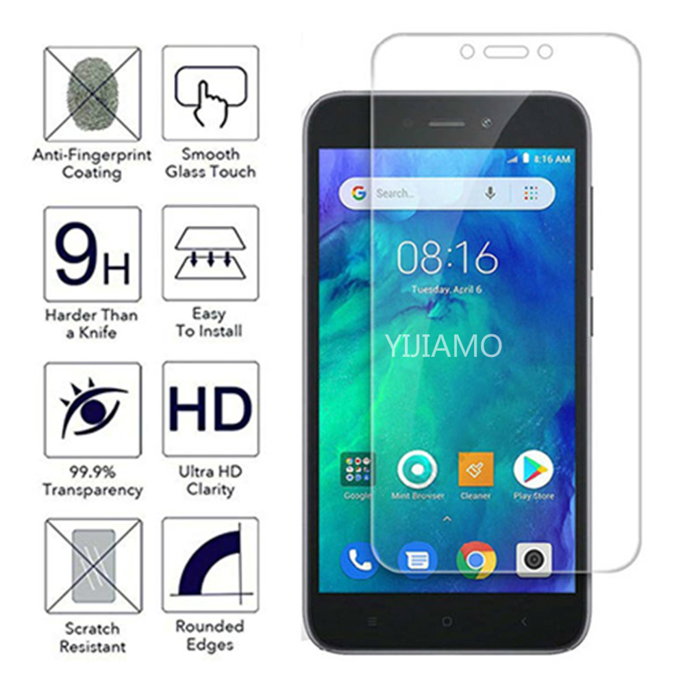 2.5D Tempered Glass On The For Xiaomi Redmi Go Screen Protector For Redmi Go Safety Protective Film Glass Cover Red Mi Go Xiomi