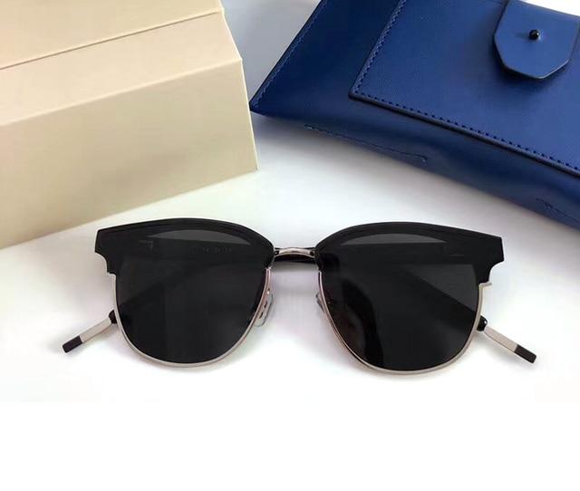 739c0c59d53b3 2019 New Semi Rimless Polarized Sunglasses Men Women Gentle Brand V Designer  Half Frame Sun Glasses