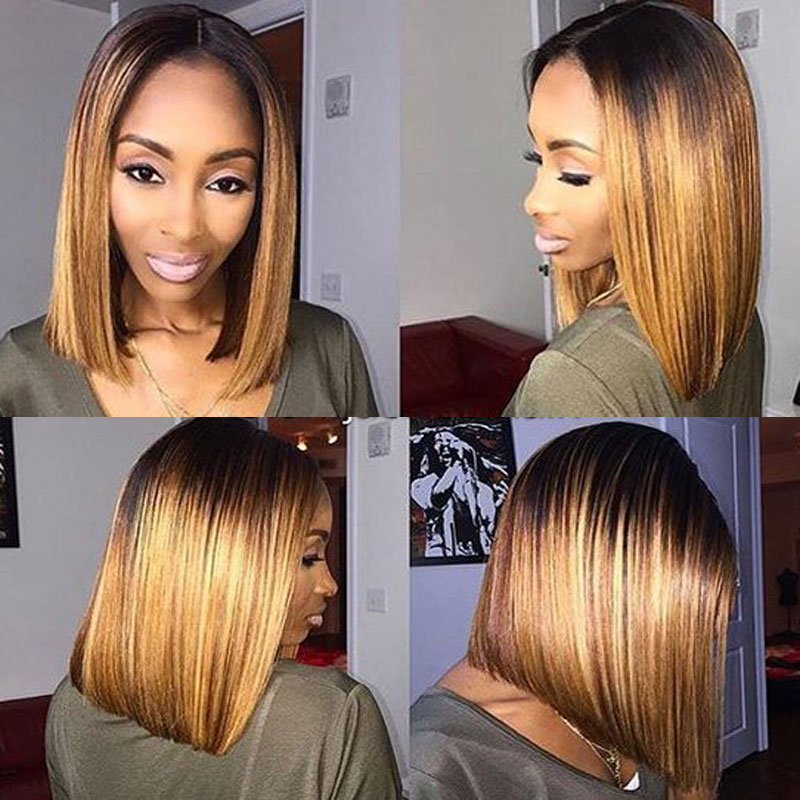 Pleasant Aliexpress Com Buy Natural Straight Short Hair Cut Bob Synthetic Hairstyles For Women Draintrainus