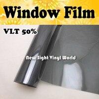 VLT 50% Window Film Car Window Tint Car Window Vinyl Size:1.52*30m/Roll