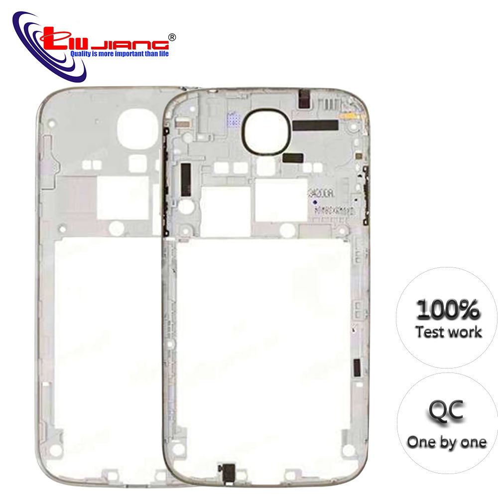 New Rear Housing Frame For Sumsung S4 I9500 I9505 I337 Middle Chassis Frame Bezel Battery Door Back Cover Replacement