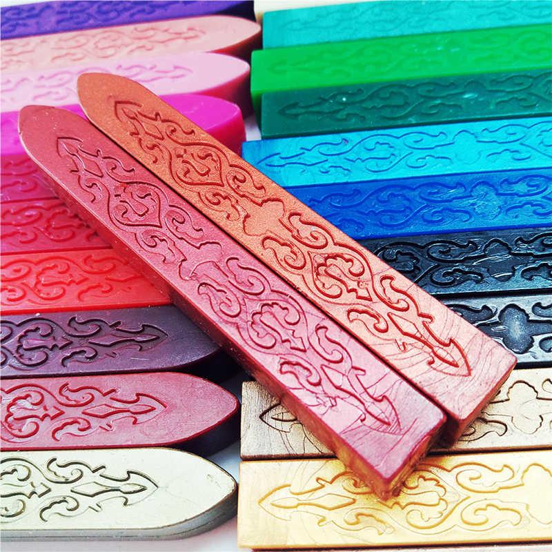 Pratik Vintage Sızdırmazlık balmumu şerit s DIY El Yapımı Davetiye Kartı Zarf Sızdırmazlık Balmumu Sihirli Ok Desen balmumu şerit