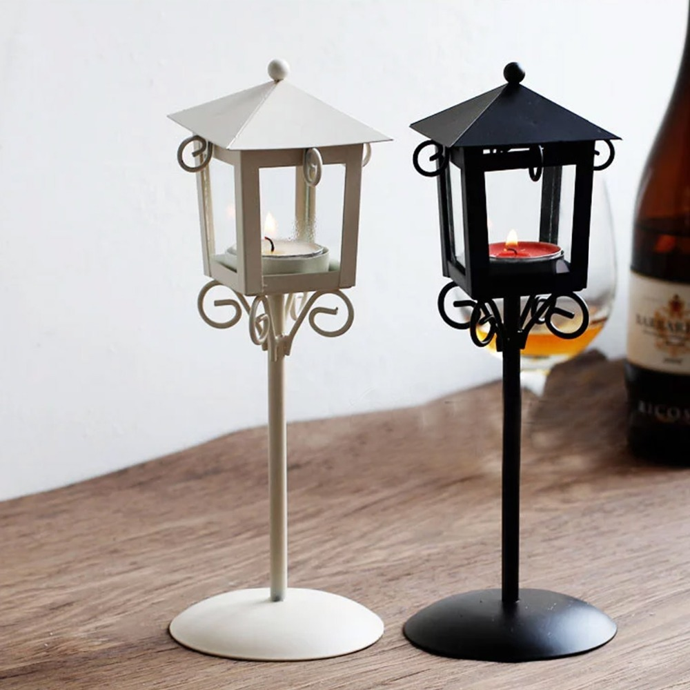 Tall wrought iron candle holders - Pare S On Wrought Iron Lantern Holder Ping