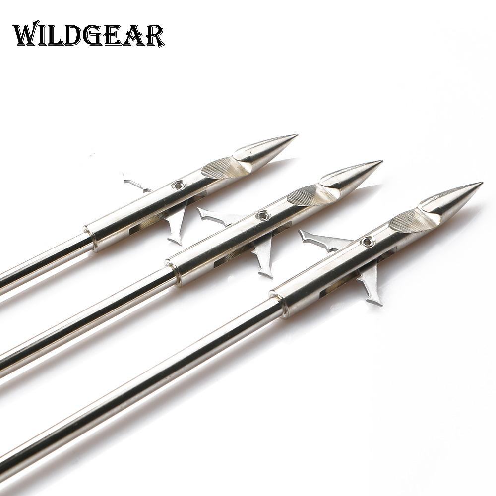 Stainless Steel Arrowhead Bow Shot Fish Dart Hunting Shooting.Fishing accessoryZ