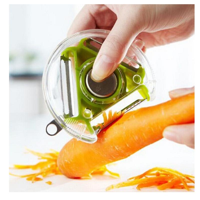Hot 1pcs Multi-function Rotating Fruit Peeler Fruit and Vegetable Peeler Gouache