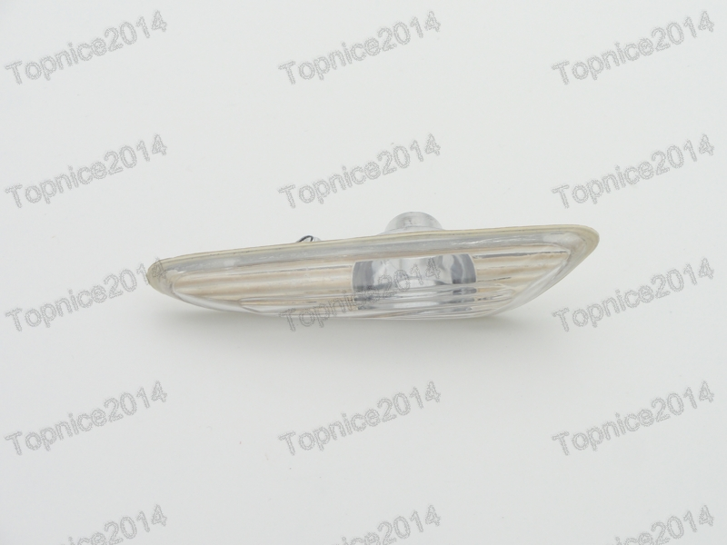 1Pcs LH Left Side White Fender Side Marker Light Turn signal Lamp For BMW 3-Series E46 2001-2004 free shipping 2x led turn signal side light auto parts led side marker car accessories with m logo for bmw e46 02 05 4d 5d