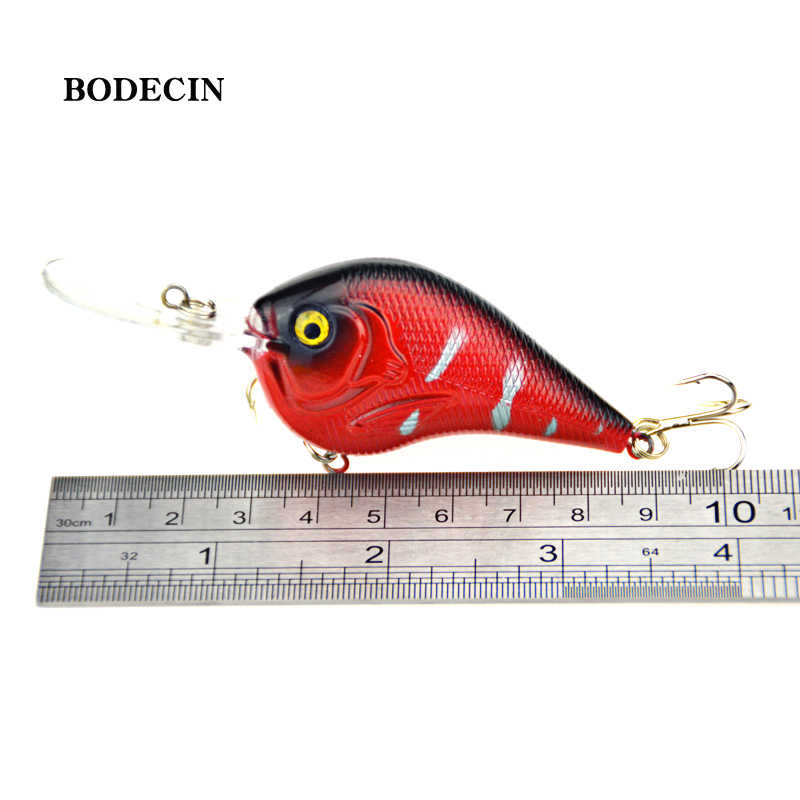 1 pièces leurres de pêche artificiel vairon manivelle appâts pêche 3D oeil de poisson manivelle appât en plastique dur Laser leurre appâts 9.5cm 11.2g mer
