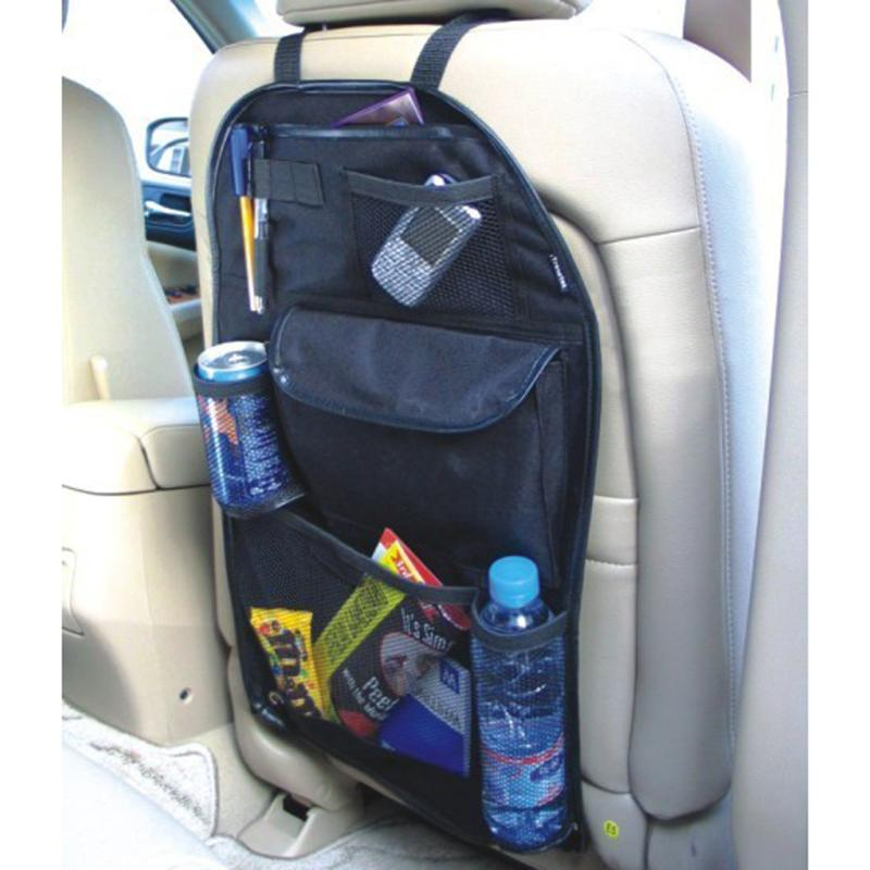Organizer Storage-Bag Hanging-Pouch Auto-Accessories Car-Back-Seat Multi-Pocket Black