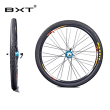 Mountain bike wheel 26er disc brake bicycle wheel with tire bicycle parts equipped with quick release11 Speed Alloy Rim Wheelset