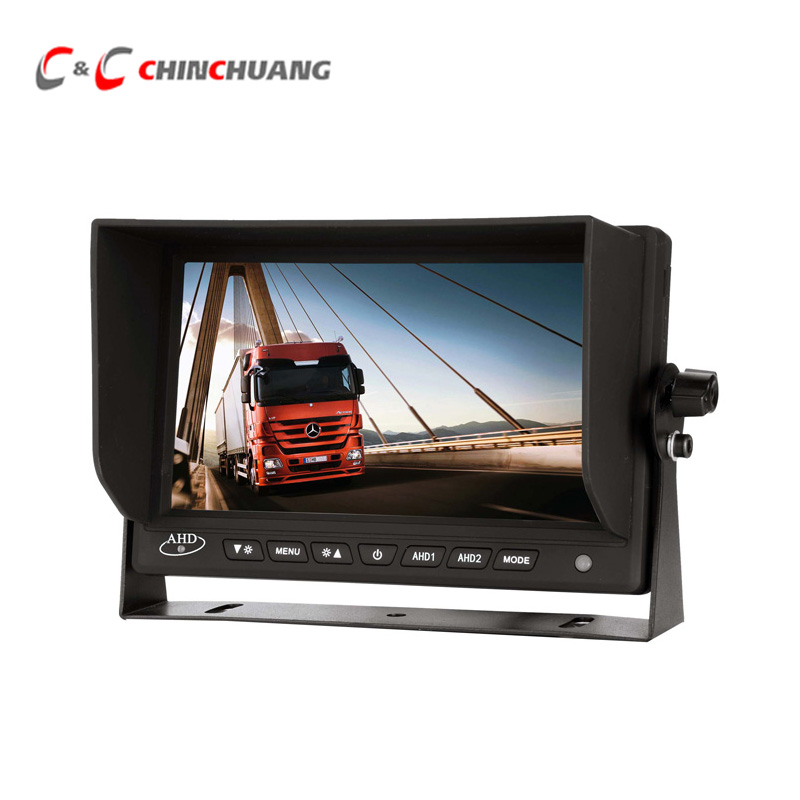 AHD 1080P HD 7 inch Car Backup Reverse TFT LCD Digital Monitor Rear View Screen for Truck Bus RV Caravan Van TrailerAHD 1080P HD 7 inch Car Backup Reverse TFT LCD Digital Monitor Rear View Screen for Truck Bus RV Caravan Van Trailer