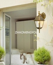 2PCS European vintage outdoor waterproof wall lamp, creative balcony corridor corridor, outdoor courtyard dining room wall lamp