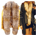 Autumn and winter women's Ultralarge ultra long faux fox raccoon fur luxury thermal fur scarf muffler collar scarf 180cm