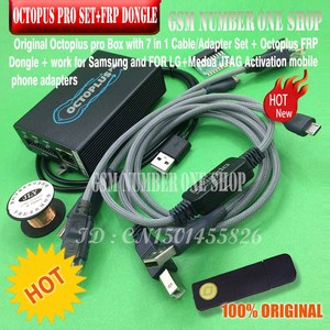 Image 4 - octoplus pro Box 9 in 1 set  ( Activated for Samsung + LG + eMMC / JTAG + Octoplus FRP Dongle + 5 cables )